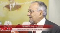 Entrevista João Capiberibe – Ato de Filiação Aldo Rebelo
