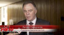 Entrevista Renato Casagrande – Ato de Filiação Aldo Rebelo