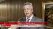 Entrevista Rodrigo Rollemberg – Ato de Filiação Aldo Rebelo