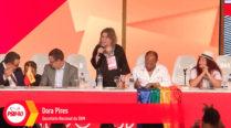 Saudações da Secretaria Nacional da SNM – Dora Pires