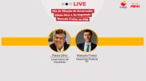 Ato de filiação ao PSB – Marcelo Freixo e Flavio Dino